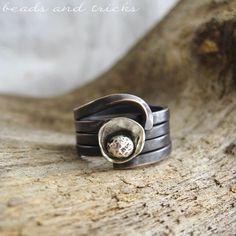 Anelli: rame, argento e forgiatura | Handmade by Beads and Tricks