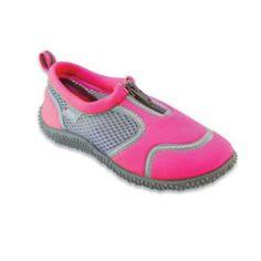 1cede8a4ef5c Frisky Zip-Up Girls Water Shoes Aqua Socks 5-10 (9