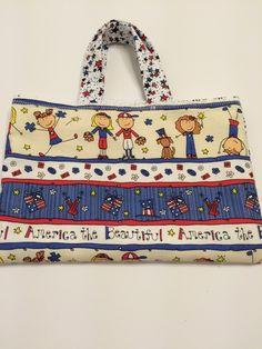 America The Beautiful  - Toddler Tote, $15.00
