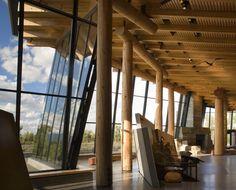 Grand Teton Discovery and Visitor Centre   by Bohlin Cywinski Jackson  7 August 2011
