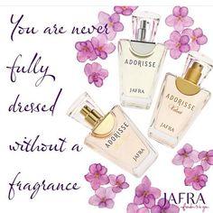 Makin percaya diri dengan parfum Jafra yg lembut dan menawan ❤️❤️❤️