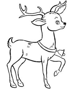 Free, printable Santa coloring pages are fun for kids. Dogs, cats, Christmas trees, and reindeer are just a few of the many coloring sheets and pictures in this section. Rudolph Coloring Pages, Deer Coloring Pages, Coloring Pages To Print, Printable Coloring Pages, Coloring Pages For Kids, Coloring Books, Red Nosed Reindeer, Santa And Reindeer, Reindeer Christmas