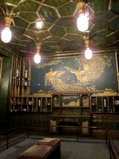 William Morris Fan Club: Whistlers Amazing Peacock Room, Freer Gallery