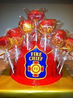 Fire Cake Pops