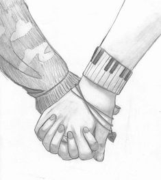cute couple sketches to draw hand holdings hands holding sketch - couple anime sketch Couple Sketch Drawing, Romantic Couple Pencil Sketches, Cute Couple Sketches, Love Drawings Couple, Cute Drawings Of Love, Hand Sketch, Drawing Sketches, Art Drawings, Drawing Gif