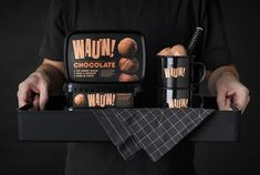 Zero-Added Sugar Ice Creams - The New Wauw Ice Cream Products Keep Empty Calories at Bay (GALLERY)