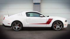 2012 Roush Mustang, 3 series.