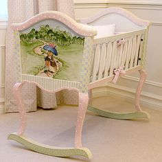 Enchanted Forest Cradle I LOVE this $1155