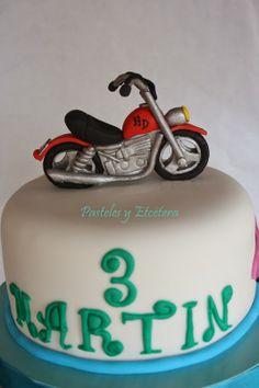Pastel con moto - Motorbike Cake - Dort s motorkou