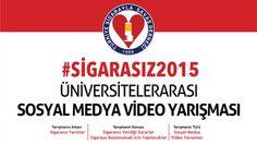 Sosyal Medyada Sigara ile Savaş! #Sigarasız2015