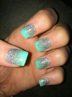 Glitter Nail Art Ideas (21)