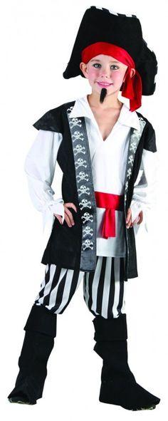disfraz pirata don dino -                  Dónde está el tesoro, mamá??!! Pirate Woman, Pirate Life, Pirate Halloween Costumes, Halloween Cosplay, School Costume, Pirate Crafts, Peter Pan, Punk, Female