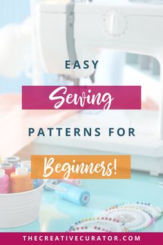 Are you a sewing beginner looking to learn how to sew your own clothes? These five easy and FREE sewing patterns will help you start sewing amazing clothes today! Learn To Sew, How To Make, Easy Sewing Patterns, Free Sewing, Make Your Own, Learning, Simple, Creative, Clothes