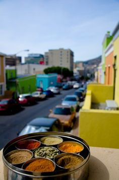 Take some Cape Malay cooking lessons in the Bo-Kaap, Cape Town, South Africa. Contact Pam at www.capefusiontours.com