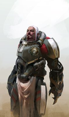 Concept Art World Nuare Studio Character Concept, Character Art, Character Design, Cyberpunk, Sci Fi Armor, Warhammer 40k Art, Concept Art World, Art Et Illustration, Sci Fi Characters