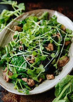 Recipe: Nigel Slater's Five-Spice Chicken & Pea Shoot Salad