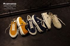 """CONVERSE ONE STAR J VTG """"made in JAPAN"""" """"LIMITED EDITION for TIME LINE"""""""