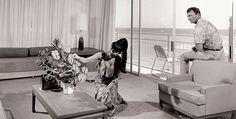 Ocean front room at The New Otani Kaimana Beach Hotel, cir mid 70s