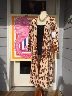 Love the leopard Sarah!