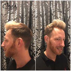 Corte de chico + mechas - man's hair cut + highlights by Onda Salon Team.  #cortedechico #mechasdehombre #davines #davinesnewcolorbleach #davinescolor #manshair #manshaircut #manshairstyle #manhighlights #barbershop #barberbcn #barberia #barberiabarcelona #hipster #peluqueriaBarcelona #cortechico #ondasalon #barcelona #barceloneta