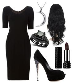 """""""Classy Goth/Witch -"""" by elisekadie ❤ liked on Polyvore"""