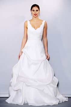Best Wedding Dresses for an Inverted Triangle Body - From YouBeauty.com
