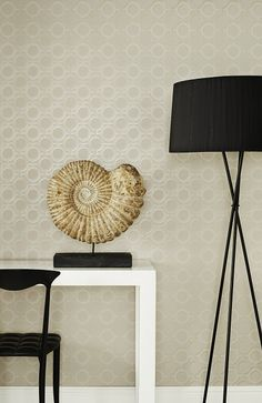 Enigma in Taupe http://www.kellyhoppen.com/shop-by-type/wallpaper/enigma-taupe-wallpaper