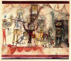 'Music at the fair' by Paul Klee (1879-1940, Switzerland) Kandinsky, Paul Klee Art, Cobra Art, Art Abstrait, Art Fair, Oeuvre D'art, Female Art, Les Oeuvres, Modern Art