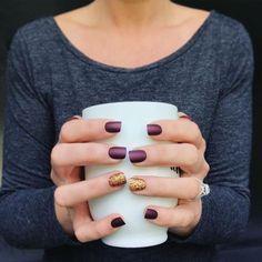 #Coffee & #fallnails