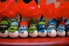 Snowman Ornament - gratis patroon