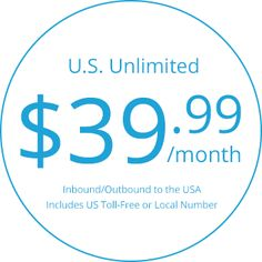 AVOXI launches U.S. #Unlimited Bundles Starting at $39.99/Month for Any Size Biz. #tollfree Free hosted #pbx Included! #AVOXI #callingplans