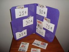 Cut and sort coupons by price. Practical life skills, math, and fine motor! -Repinned by Totetude.com