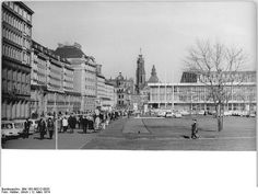 Dresden, Altmarkt mit Kulturpalast, 1974