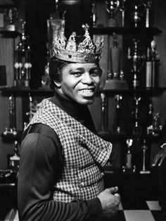 James Brown / Musician / Black and White Photography