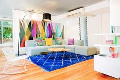 Aménagement petite chambre – 50 salles de séjour de styles différents