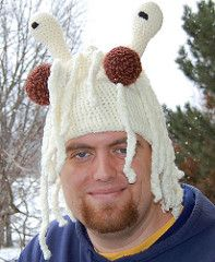 Flying Spaghetti Monster Hat pattern by Sparky