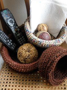 A personal favorite from my Etsy shop https://www.etsy.com/listing/223652636/crocheted-nesting-bowls-brown-natural
