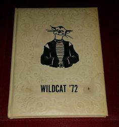 1972 Yearbook MULVANE HIGH SCHOOL Mulvane Kansas Annual WILDCAT '72 HB School Days, Old School, High School, Yearbooks, Good Old, Kansas, Grammar School, High Schools, Secondary School