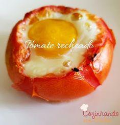 Cozinhando sem Glúten: Tomates recheados