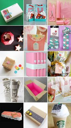 42 inspirational and creative ways to wrap gifts (wine, gift cards, cookies, etc.)