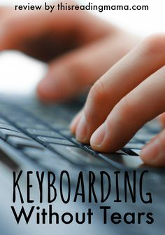 Keyboarding Without Tears Review. Programs from preschool - 5th grade for $16.50 a year