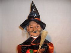 Hey, I found this really awesome Etsy listing at https://www.etsy.com/listing/175465259/halloween-witch-telco-1994-motion-ette
