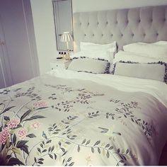 WEBSTA @ aerin - Beauty sleep. Duvet, Bedding, Beauty Care, Her Style, Natural Beauty, Sleeping Beauty, Aerin Lauder, Bliss, Fabric