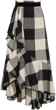 Johanna Ortiz Bosque Del Apache gingham skirt - # - Johanna Ortiz Bosque Del Apache gingham skirt – # Best Picture For fashion outfits For Your Ta - Muslim Fashion, Modest Fashion, Girl Fashion, Fashion Dresses, Fashion Design, Rock Fashion, Lolita Fashion, Fashion Fashion, Fashion Tips