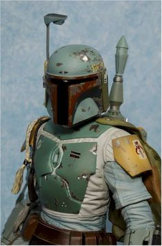 Boba Fett action figure - Another Toy Review by Michael Crawford, Captain Toy