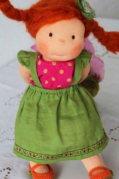 she's adorable; I like the little dress