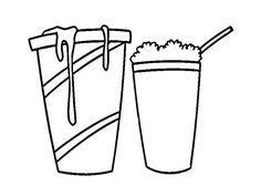 Milkshake Coloring Pages - Worksheet School Free Coloring Pages, Coloring Worksheets, Image Glass, Hd Widescreen Wallpapers, Strawberry Milkshake, Tea Party, School, English, Colors