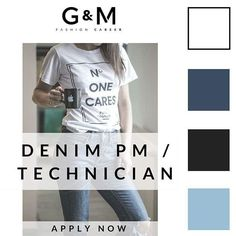 GREAT NEWS! We have a new role for a #Denim Product Manager / Technician to join one of our well-established #Swiss based clients. If you are a denim expert looking to start a new chapter, send your #CV to info@gm-fashioncareer.com  #fashionjobs #luxury #career #careergoals #goals #jobs #recruitment #instafashion #fashioncareer #trend #ootd #Denim #denimjeans #denimpatch #denimvintage