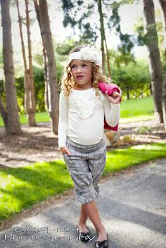 Pants... now what to pair it with? Persnickety Clothing for girls