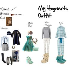 Ravenclaw Hogwarts outfit